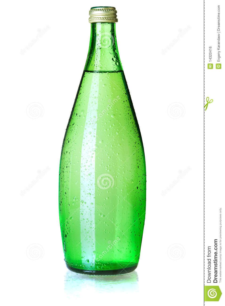 Glass Bottle Soda Clipart.