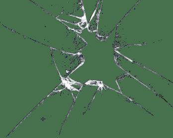 Broken Glass transparent PNG.