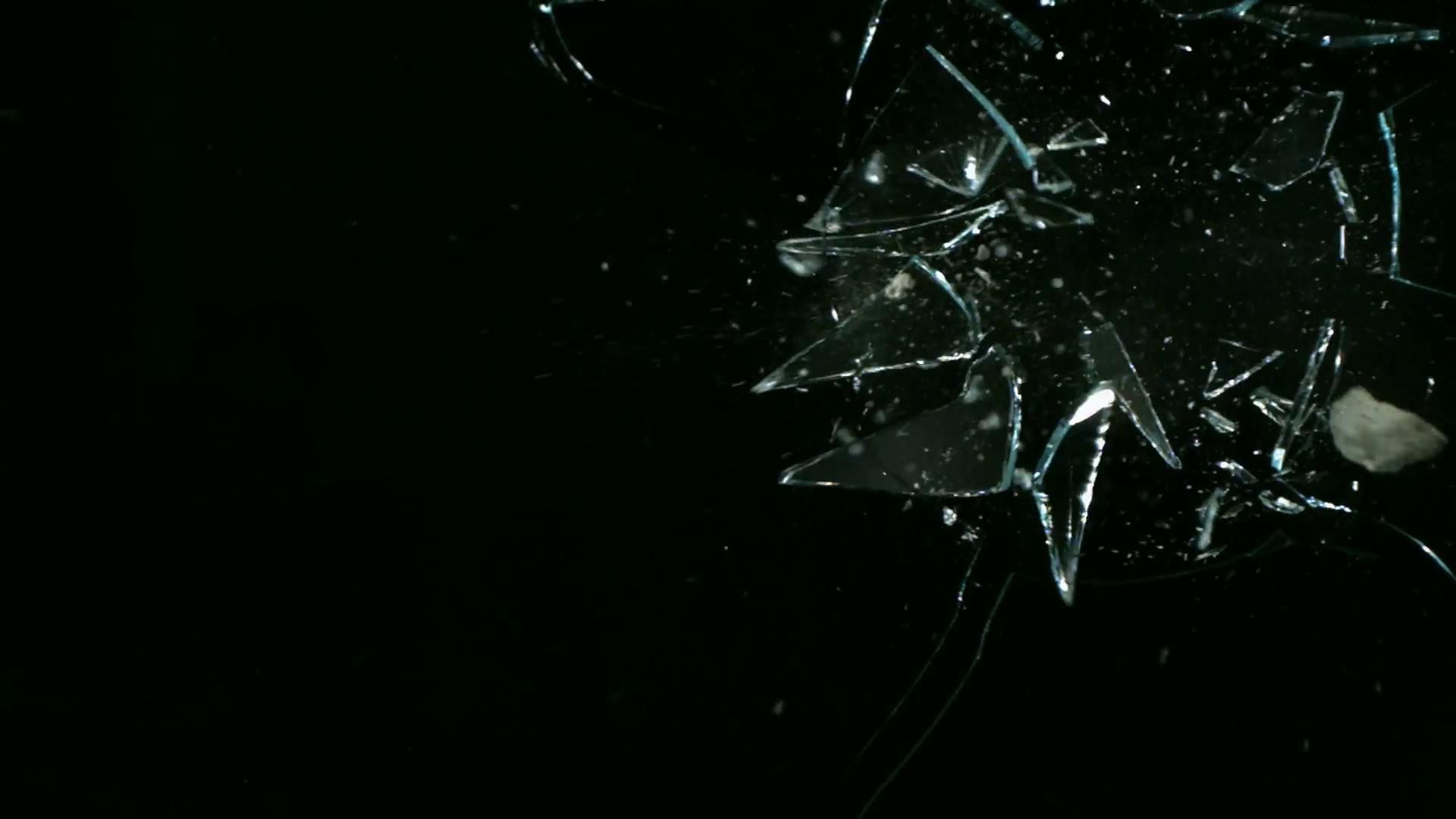 Alpha Channel Glass Breaking 3.