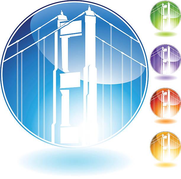 Glass Bridge Clip Art, Vector Images & Illustrations.