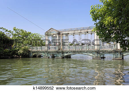 Stock Photo of crystal glass bridge k14899552.