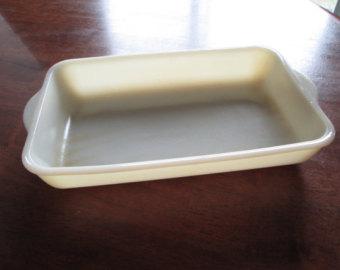 Small baking dish.