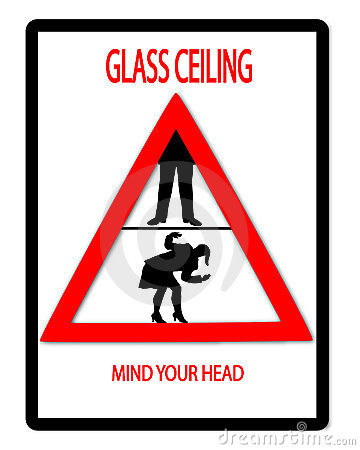 Glass ceiling clipart.