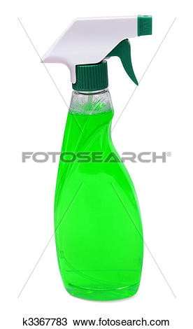 Stock Photo of spray bottle.