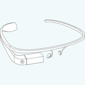 Google Glass Construction Icon.