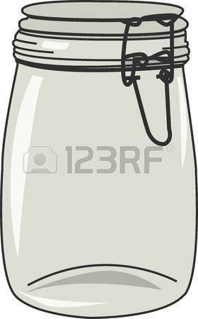 1,164 Empty Glass Jars Stock Illustrations, Cliparts And Royalty.
