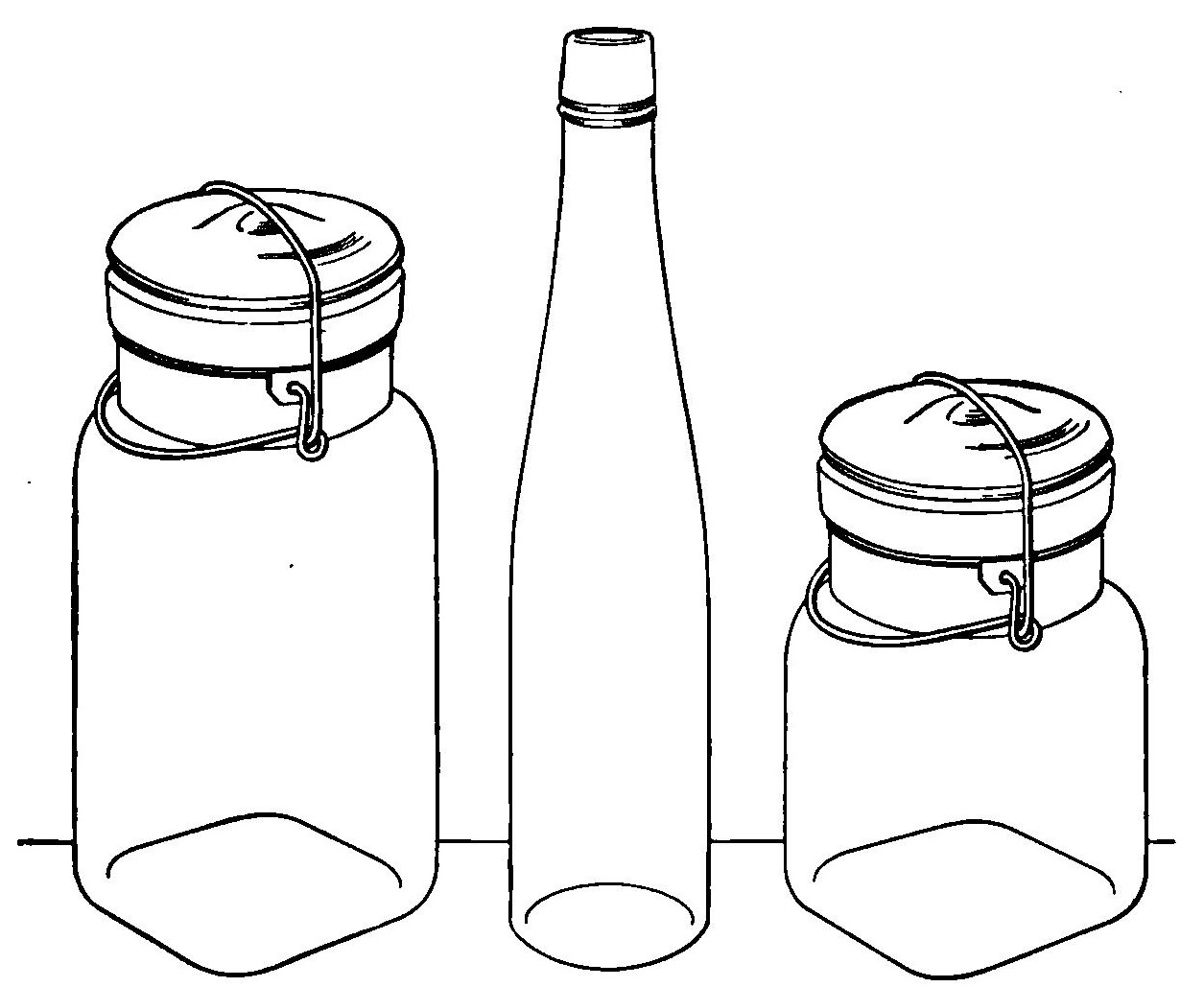 Canning Clipart.
