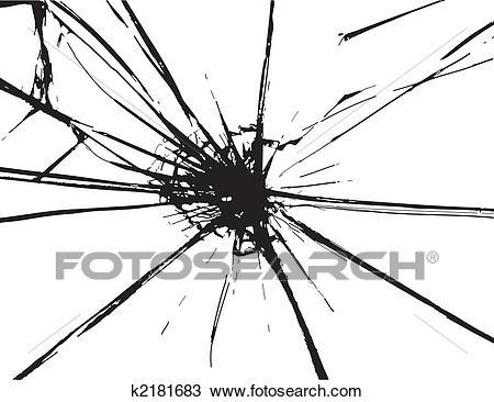 Glass crack clipart 4 » Clipart Portal.
