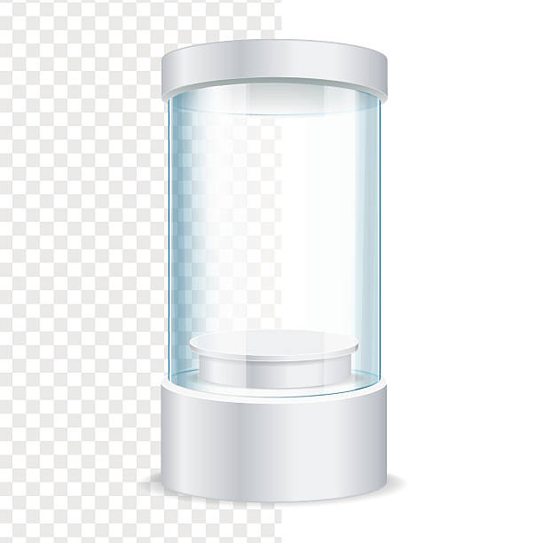 Glass Cylinder Clip Art, Vector Images & Illustrations.