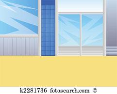 Glass door Illustrations and Clip Art. 6,962 glass door royalty.