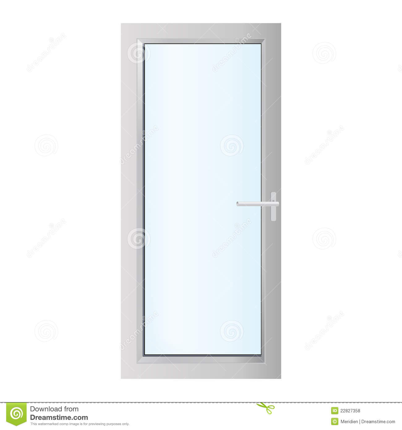 Glass door clipart #19