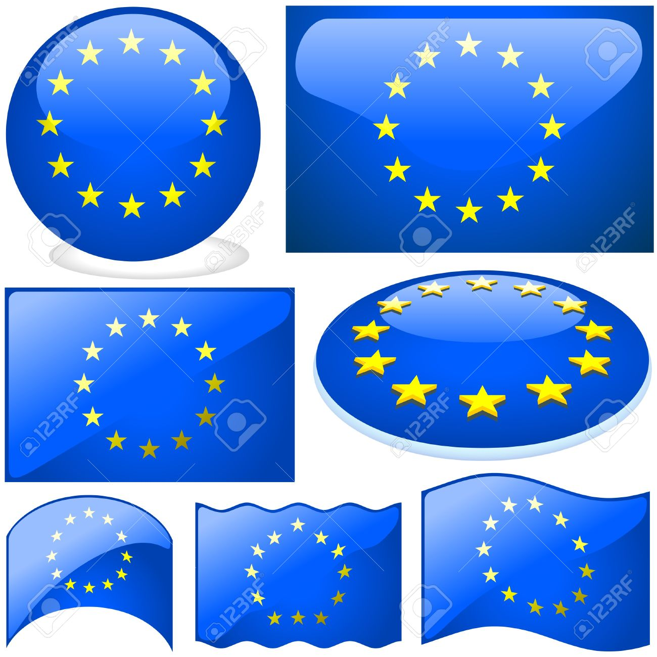 Europe Union Set.