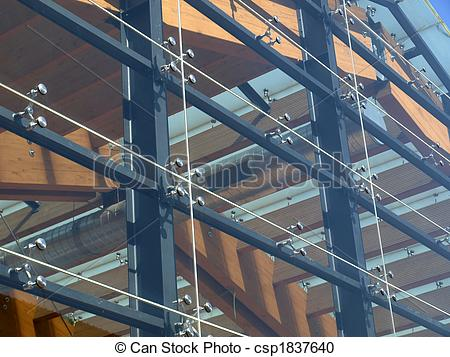 Stock Photography of Glass facade.