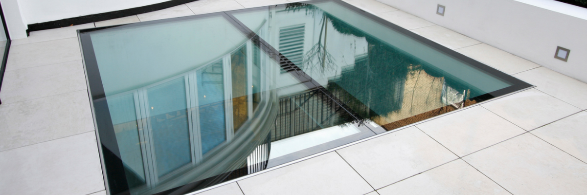 Structural Glass Floors.