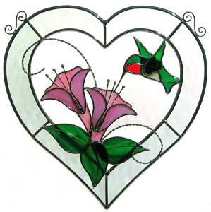 Free Stained Glass Flower Patterns.