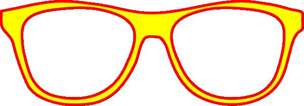 Eye glass frames clipart.