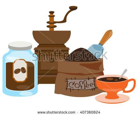 Manual Coffee Grinder Stock Photos, Royalty.