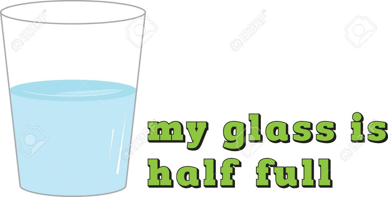 Seeing the glass half full not only makes you happier it makes...