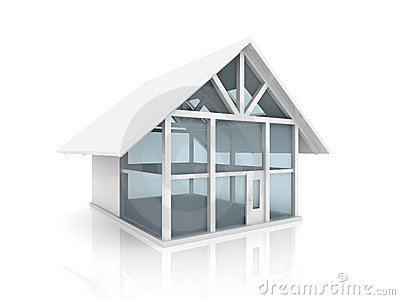 Glass house clipart.