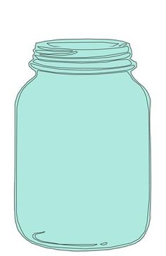 Open Jar Clipart.
