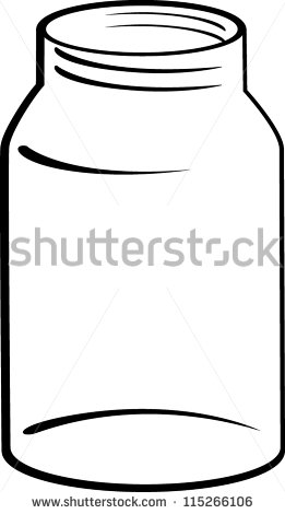 Glass Jar Clipart Stock Photos, Royalty.