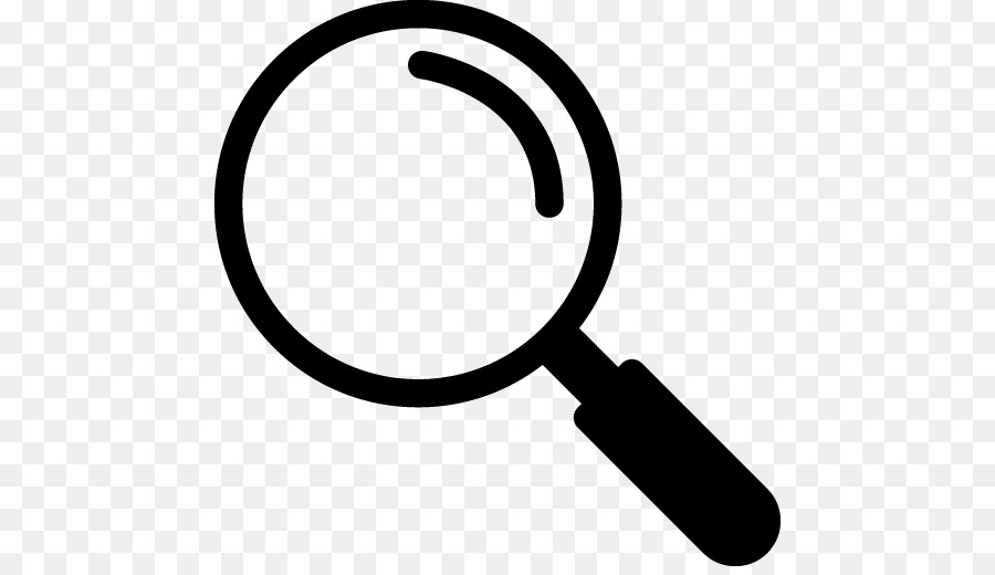 Magnifying Glass Logo png download.