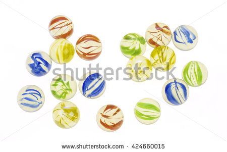 Glass Marbles Stock Photos, Royalty.
