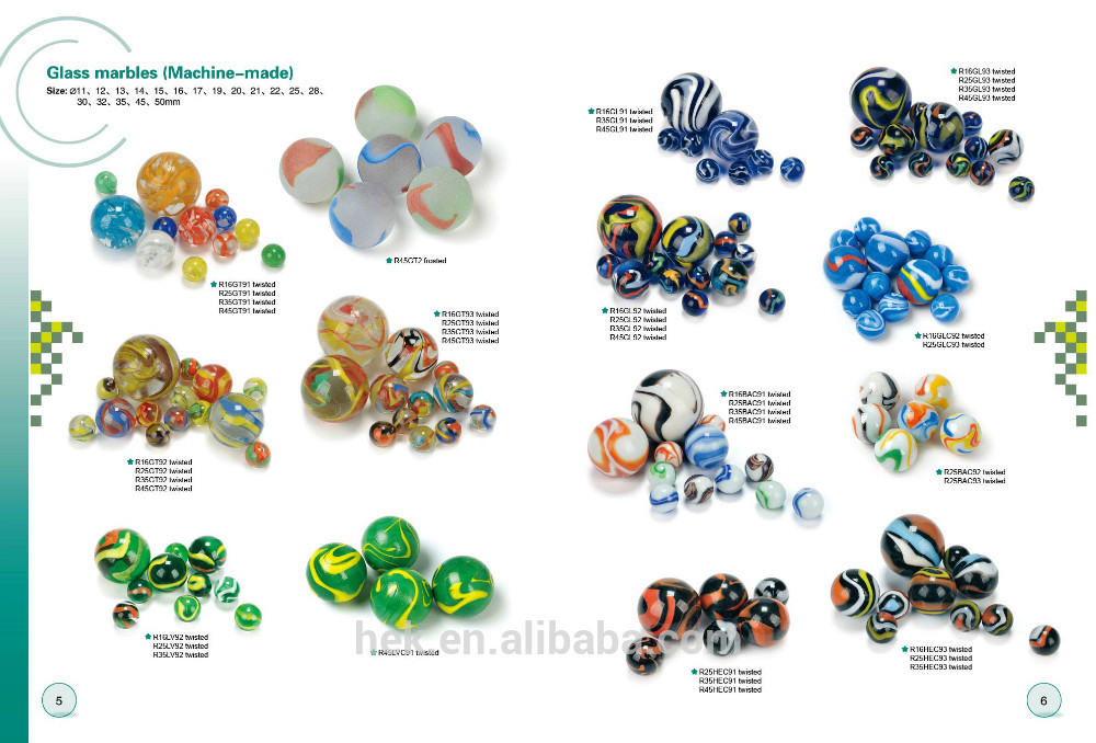 Glass marbles clipart #5