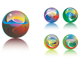 Gallery For > Clipart Glass Marbles.