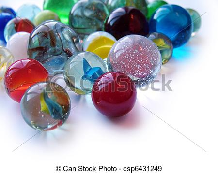 Stock Photographs of glass marbles csp6431249.