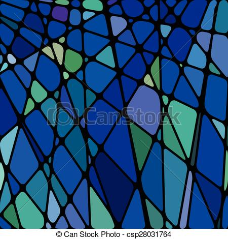 Clip Art Vector of abstract stained.