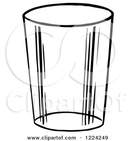 Glass mug clipart #17