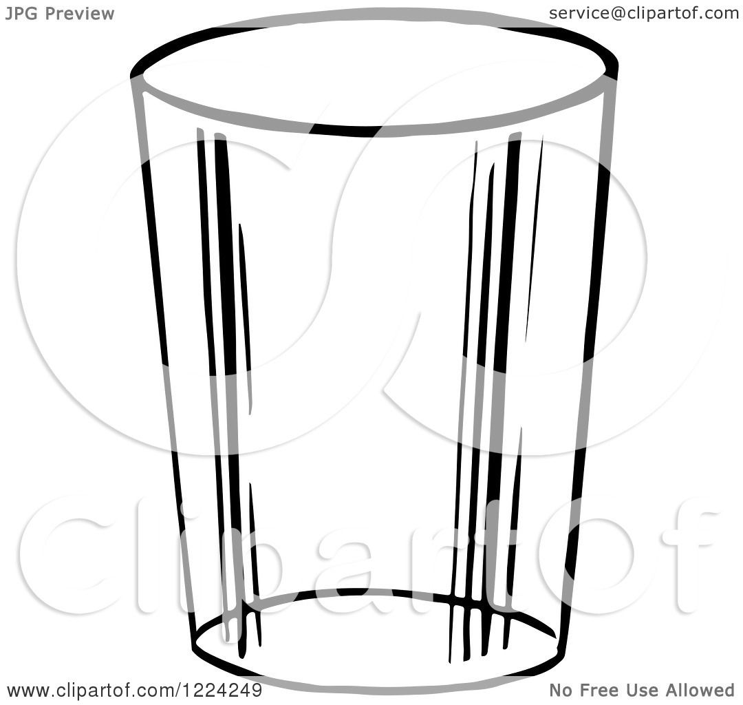 Glass mug clipart #5