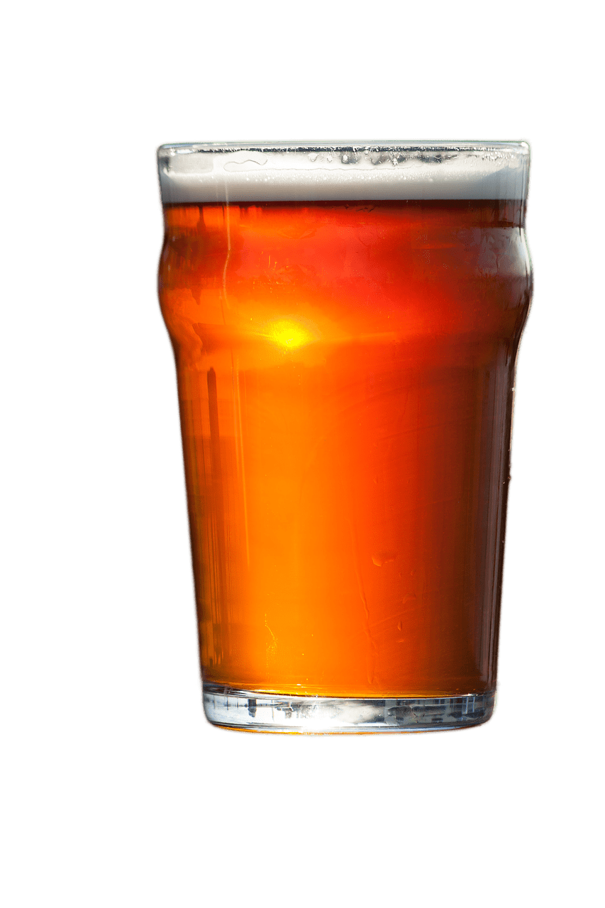 Pint Of Beer transparent PNG.