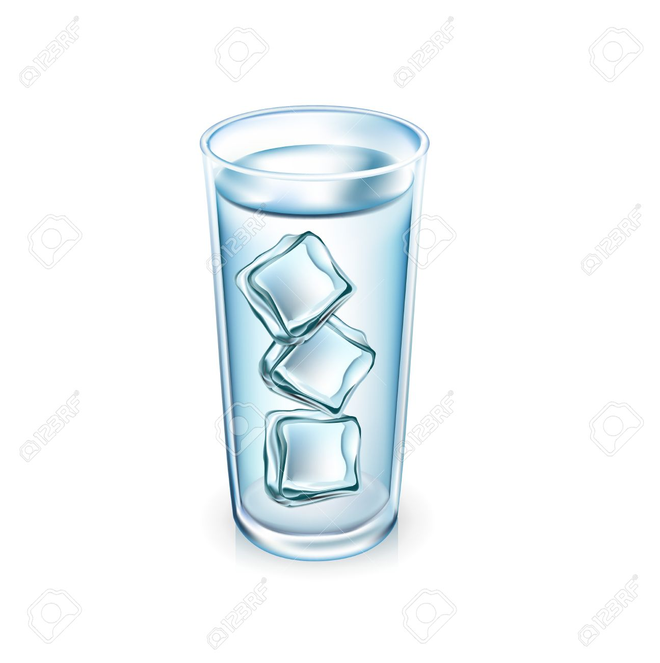 Glass of ice water clipart 1 » Clipart Station.