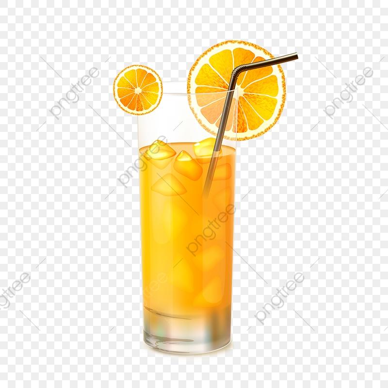 Orange Juice Glass Vector, Orange Juice, Glass Vector, Juice Glass.