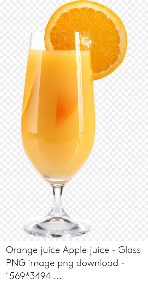 Orange Juice Apple Juice.