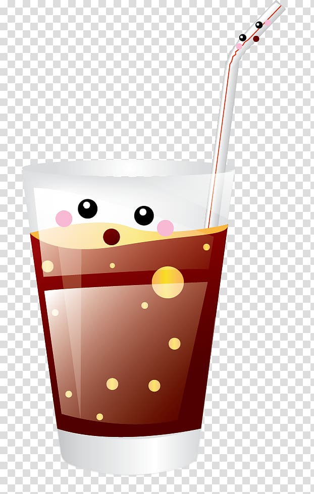 Soft drink Carbonated water , Soda Glass transparent.