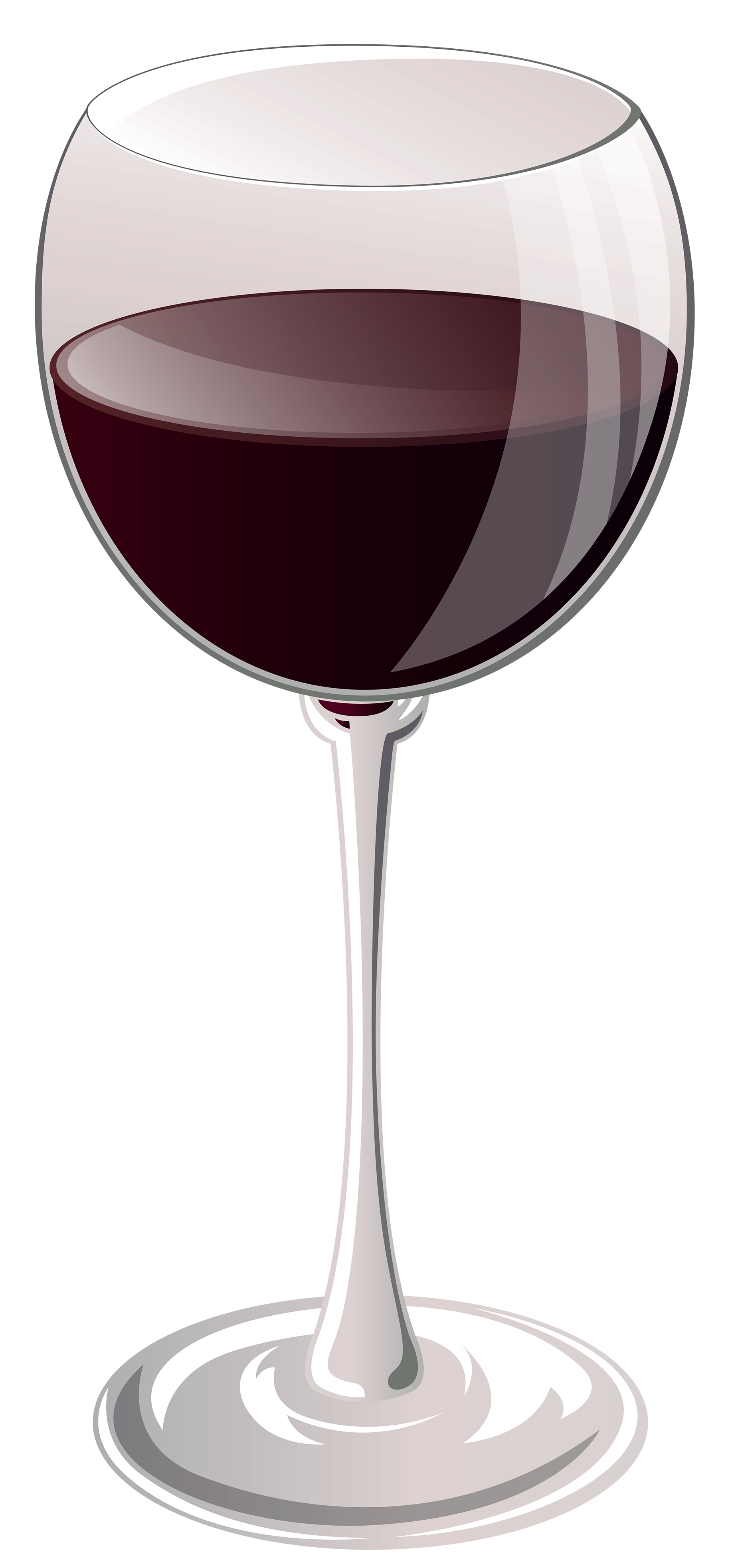 Glass of Wine PNG Clipart.