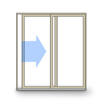 Sliding Door Clipart.