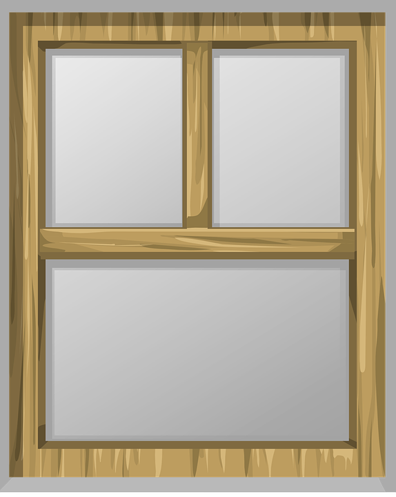 Free vector graphic: Window, Panes, Glass, Frame, Wood.