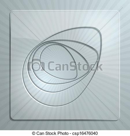 EPS Vector of Glass Panels.