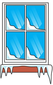 Glass panes clipart #8