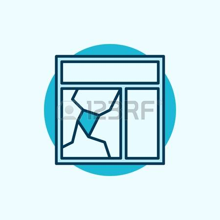 Turquoise blue panes clipart #18