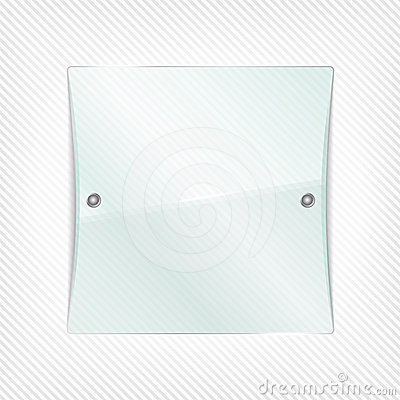 Glass Panel Royalty Free Stock Photo.