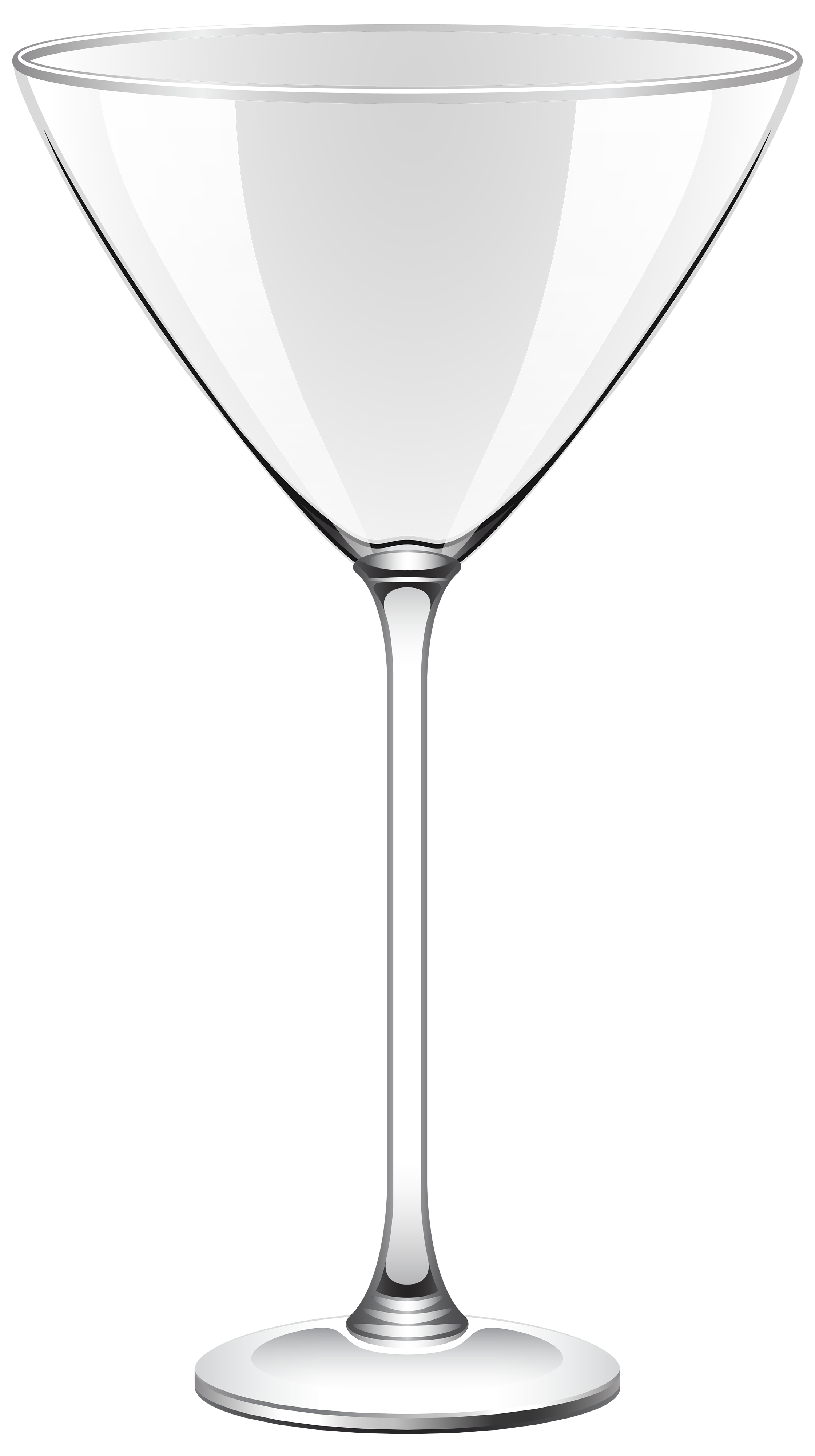 Transparent Cocktail Glass PNG Clipart.