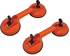 "Amazon.com: (2) 4 1/2"" Double Suction Cup Dent Puller Glass."