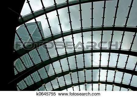 Stock Image of Glass roof k0645755.