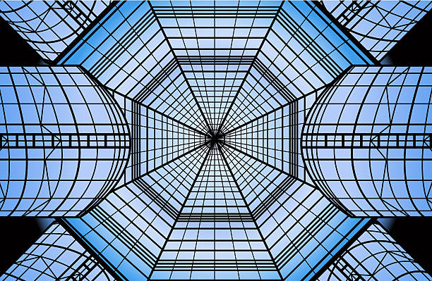 Glass Roof Clip Art, Vector Images & Illustrations.