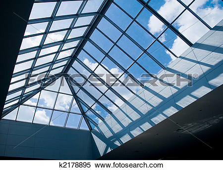 Stock Image of glass roof k2178895.